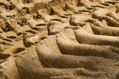 struktura tło piasku. Fotografia Stock