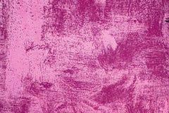 struktura zardzewiała Różowy ruch punków drapająca farba fotografia royalty free