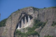strukturell geologisk förstärkning royaltyfri fotografi