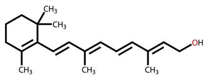 Strukturelle Formel des Harzöls Stockbild