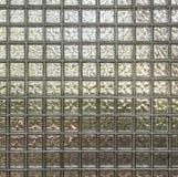 Strukturelle/modulare Glaswand Stockfotos