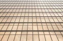 Strukturelle/modulare Glaswand Stockfoto