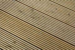 Struktureller Hintergrund des Decking Lizenzfreies Stockbild