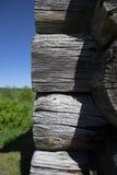 Strukturen av journalerna av husen arkivfoto