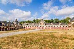 Strukturen des Zustandes von Vaux-Le-Vicomte, Frankreich Lizenzfreies Stockbild