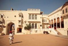 Strukturen historischen Mandawa-Forts Stockfoto