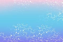 Strukturera molekylen och kommunikationsDna, atomen, neurons Vetenskapsbegrepp för din design Förbindelselinjer med prickar royaltyfri illustrationer