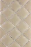 Strukturiert und Muster des hellbraunen Leders Lizenzfreies Stockbild