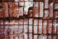 Strukturierte Backsteinmauer Lizenzfreie Stockfotos