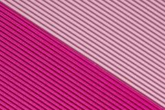 Strukturierte bunte rosa Wellpappe stock abbildung