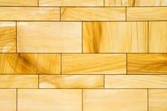 Strukturierte Faux-Holz-Wand stockfotografie