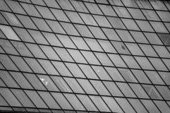 Strukturierte große Fenster Stockfoto