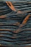 Strukturierte Holzoberfläche Brown-Weinlese Lizenzfreie Stockfotografie