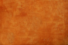 Strukturierte orange Wand Lizenzfreie Stockfotografie