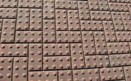 Strukturierte Pflasterungsblöcke Stockfotos