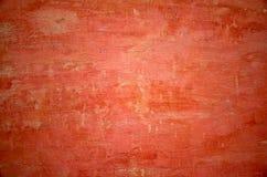Strukturierte rote Wand des Dorfhauses lizenzfreies stockbild