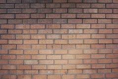 Strukturierte Wand der Ziegelsteine Orange alte SteinBacksteinmauer in London Stockfoto