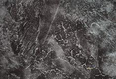 Strukturierte Wandnahaufnahme des dunklen Schmutzes Schwarzer konkreter Hintergrund Lizenzfreie Stockfotografie