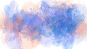 Strukturierter abstrakter Bürstenanschlag-Fleckhintergrund auf dem ganzen Bildschirm lizenzfreie abbildung
