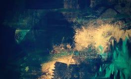 Strukturierter abstrakter digitaler Hintergrund des Schmutzes stock abbildung