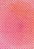 Strukturierter abstrakter Hintergrund Colourfull-Rosawaffel Abschluss oben Flache Lage Lizenzfreie Stockbilder