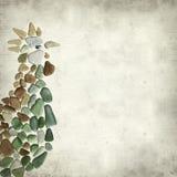 Strukturierter alter Papierhintergrund Stockfoto