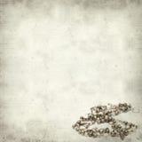 Strukturierter alter Papierhintergrund Stockfotografie