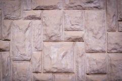 Strukturierter Block formte Wandbeschaffenheit, Architektur, Vignette Lizenzfreies Stockfoto