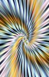 Strukturierter bunter Hintergrund Strahlnfalten laufen in einer Spirale von der Mitte zu den Rändern auseinander Lizenzfreie Stockfotografie