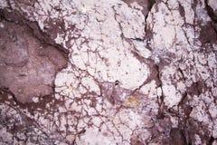 Strukturierter Felsenhintergrund Lizenzfreies Stockfoto