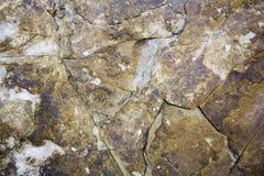 Strukturierter Felsenhintergrund Stockbild