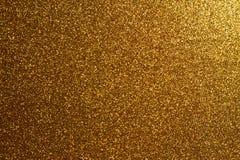 Goldenes Funkeln Lizenzfreie Stockfotos