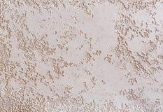 Strukturierter Hintergrund der beige rauen Wand Abstact-Stuck Beschaffenheit des Gipses auf der Wand Stockfotos