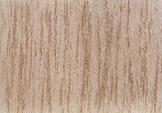 Strukturierter Hintergrund der beige rauen Wand Abstact-Stuck Beschaffenheit des Gipses auf der Wand Stockfotografie
