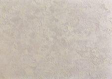 Strukturierter Hintergrund der beige rauen Wand Abstact-Stuck Beschaffenheit des Gipses auf der Wand Lizenzfreie Stockfotografie