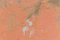 Strukturierter Hintergrund der Betonmauer mit Farbe weg abziehen Stockbilder