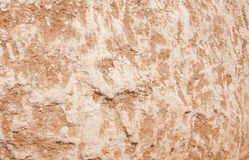 Strukturierter Hintergrund des erdigen roten Kalksteinfelsens lizenzfreies stockfoto