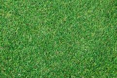 Strukturierter Hintergrund des Musters des grünen Grases des Fußballplatzes Lizenzfreies Stockbild