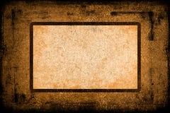 Strukturierter Hintergrund mit Feld/Rand Stockbilder