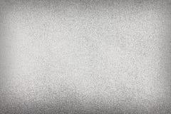 Strukturierter Hintergrund mit grauem Weihnachtsspray Stockbilder