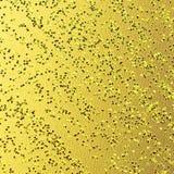 Strukturierter Hintergrund mit grungy Oberfläche Vibrierender getonter strukturierter Hintergrund Funkeln geprägt auf Goldvereite lizenzfreie abbildung