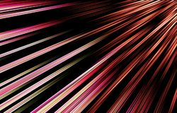 Strukturierter Hintergrund von gewellten Farbstreifen Beautifu-Bild Lizenzfreie Stockbilder