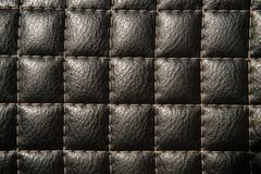 Strukturierter Lederrückenboden stockbilder