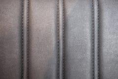 Strukturierter Lederrückenboden lizenzfreie stockbilder
