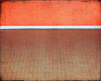 Strukturierter orange Raum Stockfoto
