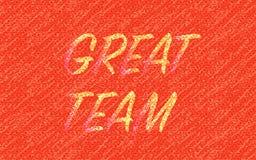 Strukturierter roter Hintergrund der großen Teamzusammenfassung vektor abbildung
