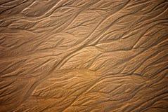 Strukturierter Sand Stockbild