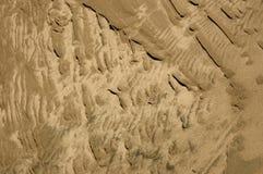 Strukturierter Sand Lizenzfreies Stockfoto