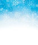 Strukturierter Schneeflockenhintergrund. stock abbildung