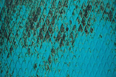 Strukturierter Tapetenhintergrund der rostigen Metallplatte Stockfotografie